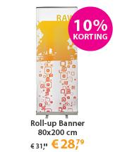 Roll-up Banner 80x200 actie