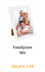 Fotolijsten Wit