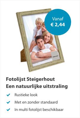 Fotolijsten Steigerhout